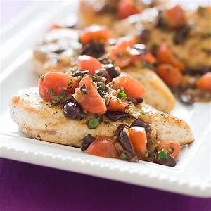 Mediterranean Chicken Breasts Cook39s Country