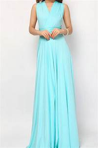 Aqua blue Bridesmaid Dress Infinity Dress Convertible ...