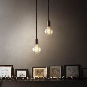 Lustre Suspension Design : suspension edison luminaire de ideal lux 1 lumi re lustre design coloris au choix ~ Teatrodelosmanantiales.com Idées de Décoration