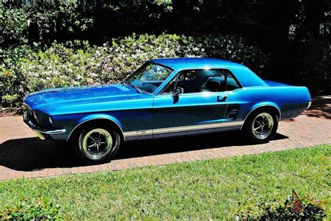 ford mustang coupe coolest 1967 ford mustang gta s code coupe 390 v 8 marti report