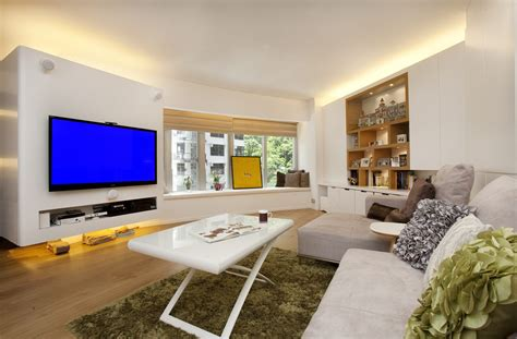 Living Room Design Hk by Tregunter Tower B Clifton Leung Design Workshop