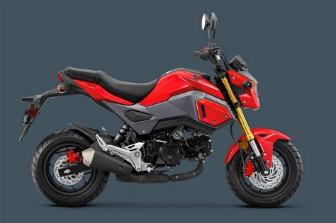 2018 Honda Grom 2018 honda grom abs adds increased safety to your gromance