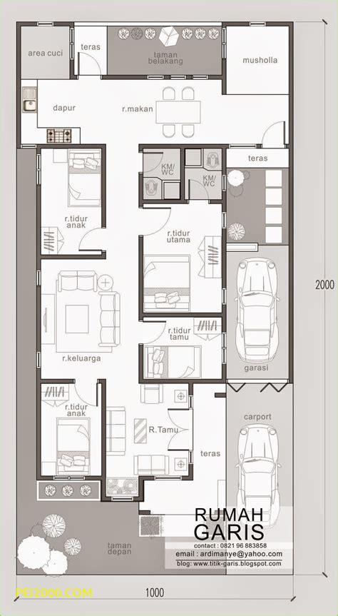 gambar desain rumah  kamar tidur  lantai tukang desain
