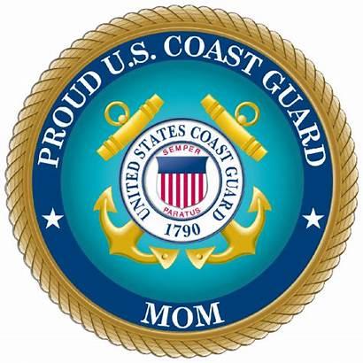 Guard Coast Mom Sticker Proud Military