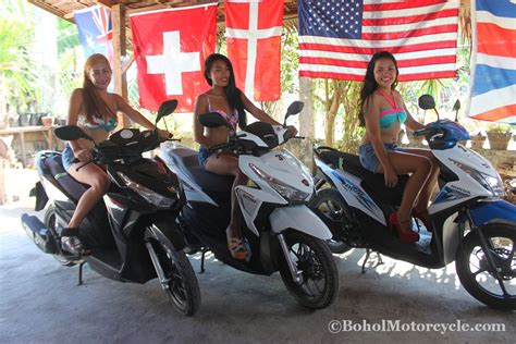 Rent A Motorcycle In Bohol
