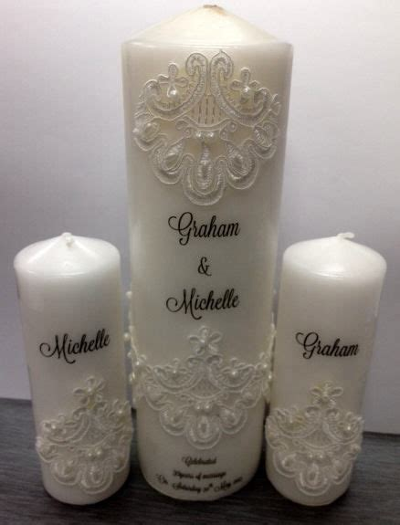 decorated candles ideas  pinterest decorating