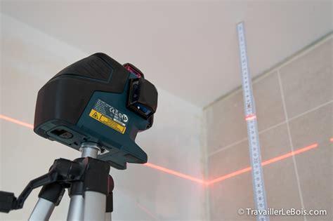 le niveau laser bosch gll 3 80 p travailler le bois