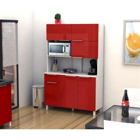 buffet de cuisine pas cher lova buffet de cuisine 120 cm haute brillance