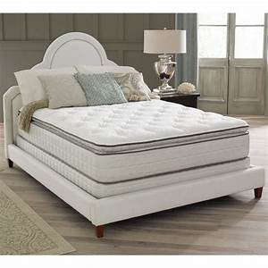 Spring air premium collection noelle pillow top king size for Best king size mattress reviews