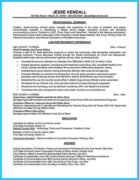 Correctional Officer Cover Letter by Correctional Officer Resume To Get Noticed