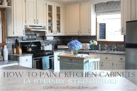 how to paint kitchen cabinets step by step 6 inspiring paint projects