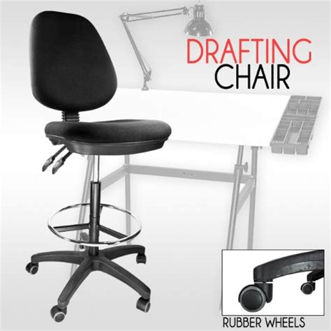 ergonomic kneeling drafting chair deals for drafting chair stool ergonomic black adjustable