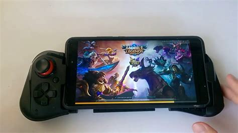 How To Play Mobile Legends With Mocute-058 Gamepad