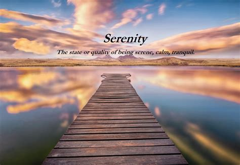 Means In by Serenity Definition Meaning Positive Words Research