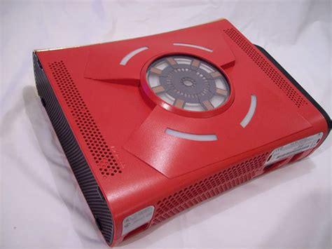 Iron Man Xbox 360 Case Mod Blue Ring Of Life Technabob
