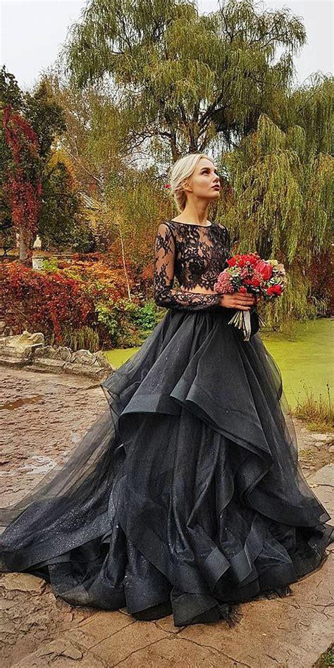 beautiful black wedding dresses   strike