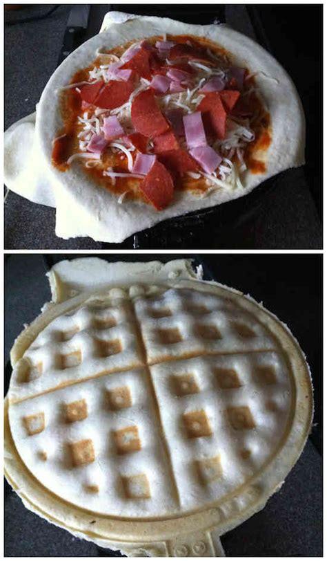 peut on faire une pizza avec une pate feuillete 12 choses surprenantes que vous pouvez faire cuire dans un gaufrier