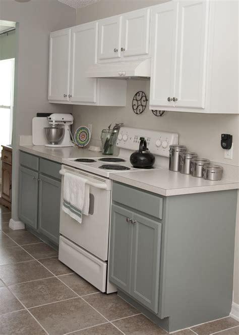 rustoleum cabinet transformations seaside two tone kitchen cabinets rustoleum cabinet transformation