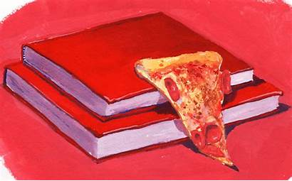 Parker Jackson Pizza Painting Giphy Gouache Everything