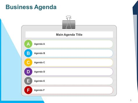 powerpoint agenda template shatterlioninfo