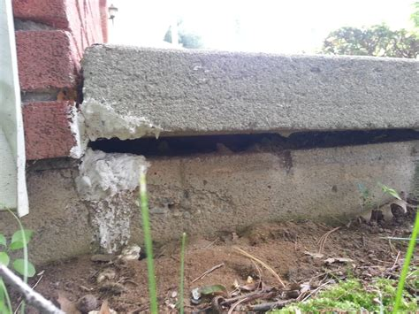foundation how can i patch a concrete porch that
