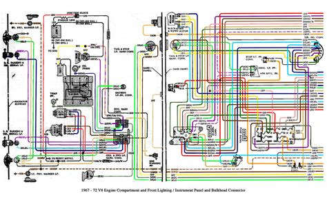 Wiring Diagram 1985 Dodge Roadtrek by 1967 72 Chevy Truck V8 And Cab Wiring This Is A Gm