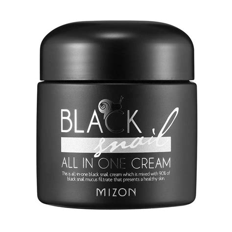 Mizon Black Snail Allinone Cream  Peach & Lily