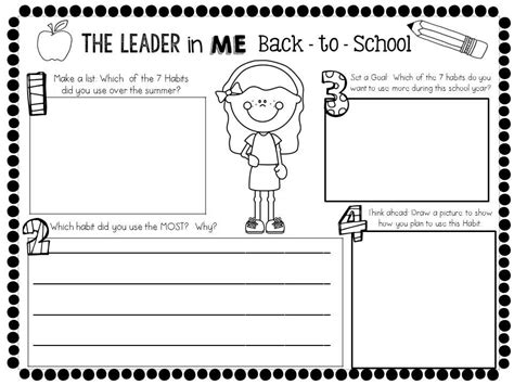 Perfect for families, distance learning, homeschool and more. The Leader in Me: The 7 Habits of Happy Kids: Back-to-School | Leader in me, Seven habits ...