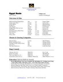 resume model for resume exle 35 child modeling resume sle modeling resume format modeling resume for