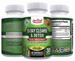 15 Day Colon Cleanse Detox Supplement For Weight Loss  U2013 Jovisof Health