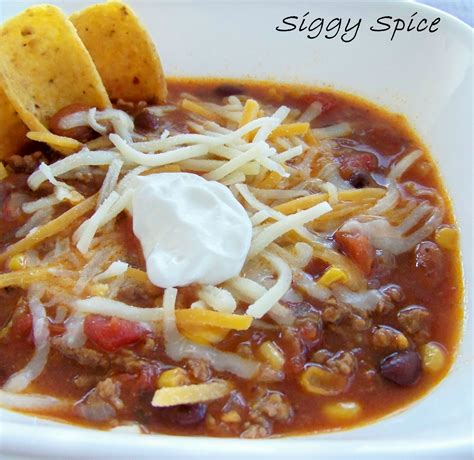 taco soup siggy spice taco soup