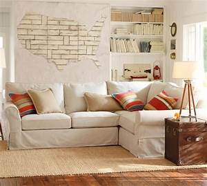 pb comfort roll arm sectional slipcovers pottery barn With pottery barn sectional sofa slipcover