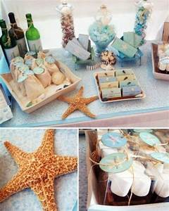 35 cool beach bridal shower ideas happyweddcom With beach wedding shower