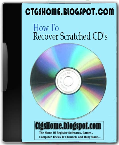 recover scratched cds full  software games