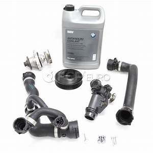 Bmw Water Pump And Thermostat Replacement Kit  E60