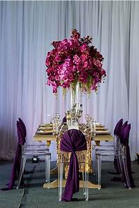 671 best images about wedding tables on pinterest With regency purple wedding decorations