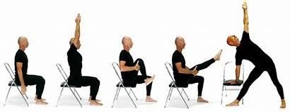 Yoga Chair Exercises Poses Based Liveyogalife Fun