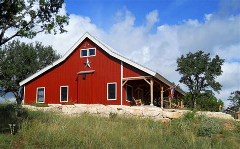 metal barn homes country barn home kit w open porch 9 pictures metal