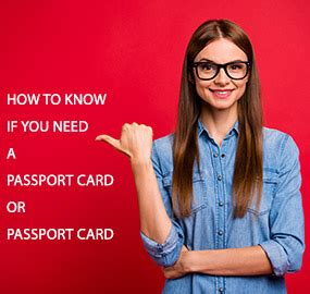 Check spelling or type a new query. How to Know if You Need a Passport Book or Passport Card