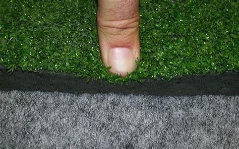 tappeto di gomma tappeto ammortizzante a rotoli con erba sintetica e