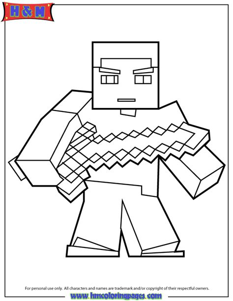 Hero Brine Free Colouring Pages