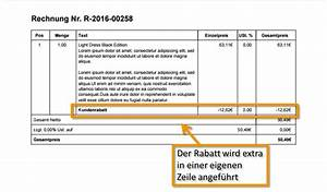 Rechnung Rabatt : rabattf hige produkte ~ Themetempest.com Abrechnung