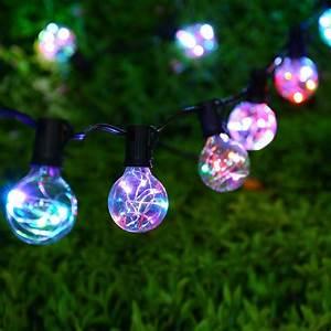 Aliexpress, Com, Buy, G40, Bulb, Globe, String, Lights, Outdoor, Indoor, Decorative, Led, Light, String, For