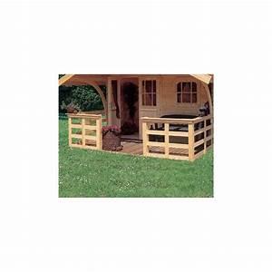 Abri De Terrasse En Bois : terrasse bois pour abri de jardin diverses ~ Dailycaller-alerts.com Idées de Décoration
