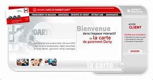 Carte Fidélité Darty : carte de paiement darty et m nafinance ~ Melissatoandfro.com Idées de Décoration