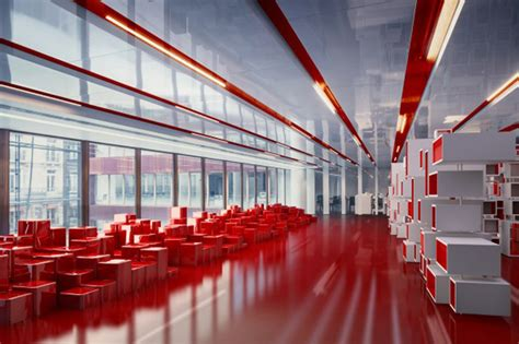 shiny    red ogilvy mather hq design