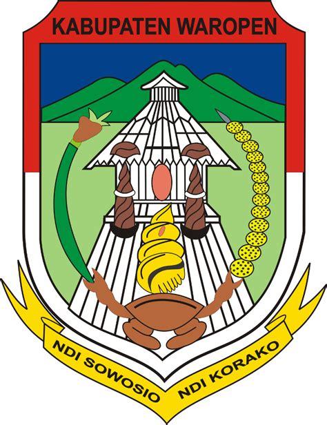 logo kabupaten sarmi  kabupaten waropen ardi la madi