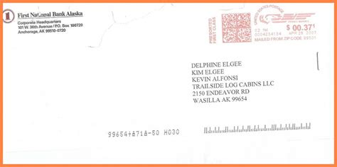 address envelope attn letter examples  addressing