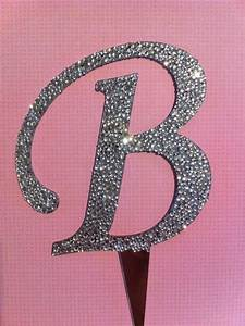 blingy b cake topper weddingbee photo gallery With letter b cake topper