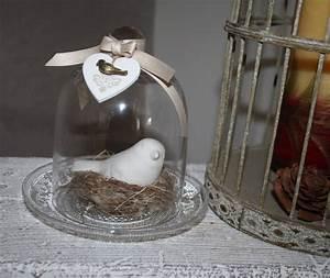 Cloche Verre Deco : oiseau sous cloche en verre cloche en verre cloche et verre ~ Teatrodelosmanantiales.com Idées de Décoration